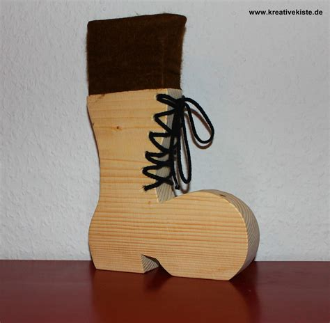 Nikolaus Basteln Holz by Nikolausstiefel Weihnachtsengel
