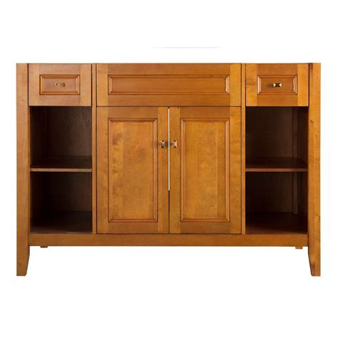 48 inch vanity cabinet only foremost exhibit 48 in w x 21 63 in d x 34 in h vanity