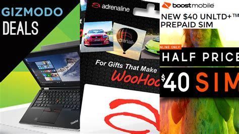 Buy Gift Cards Half Price - deals 40 off adrenaline gift cards half price xbox toys 40 off lenovo pcs