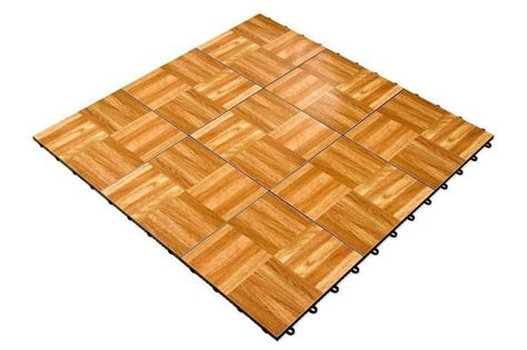 snaplock 3 x 3 portable floor in oak