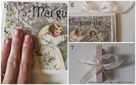 tutorial decoupage quadri come fare un mini quadro shabby chic porta card