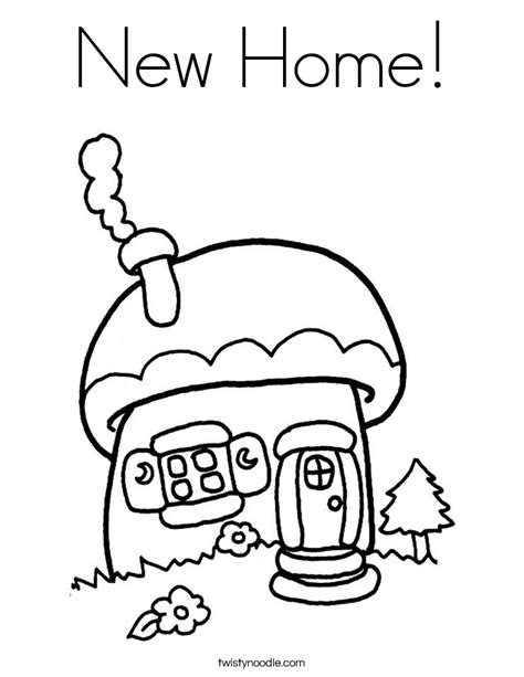 new coloring pages new home coloring page twisty noodle