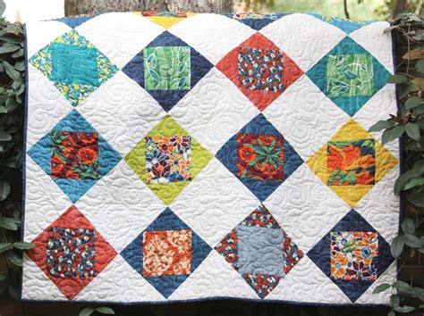 Free Patchwork Patterns - 7 free one block quilt patterns