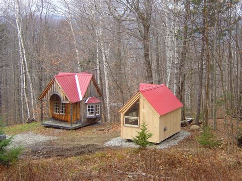 micro cottage relaxshacks com tiny house n shed compound in new england three micro cottages on a mountain