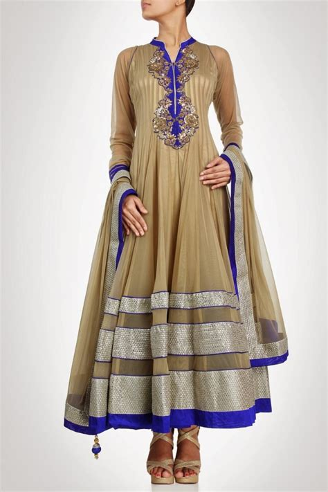 design dress collars bollywood indian dress designer kiran shruti aksh