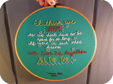 embroidery quotes winnie the pooh quote embroidery crewel