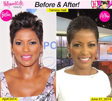 the today show tamara hair cut tamron hall s hair on today show wears hair natural