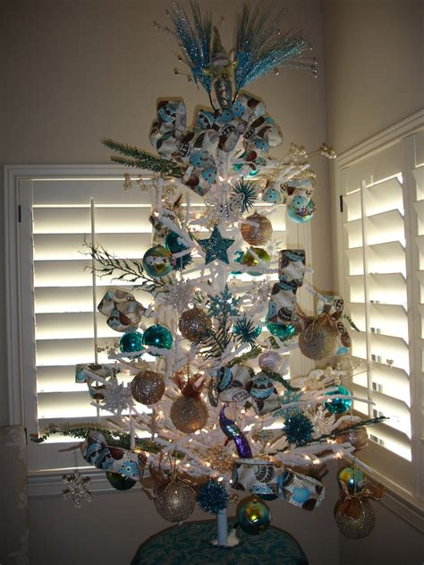 theme tree beach themed tree picture perfect christmas decorating