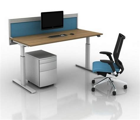 electric sit to stand desk electric sit to stand desk shop conset 501 29 laminate