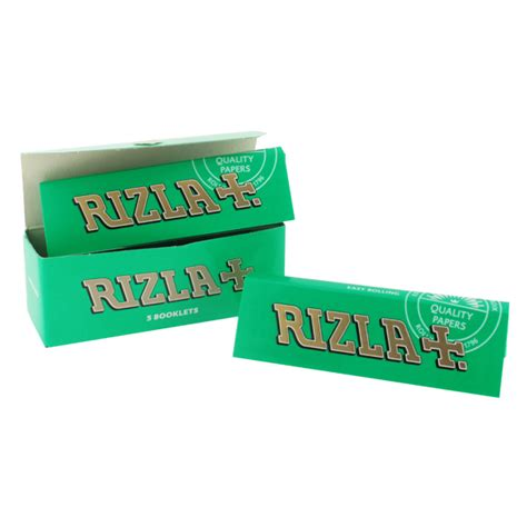 How To Make Rolling Paper - rizla green regular rolling papers multi pack rizla