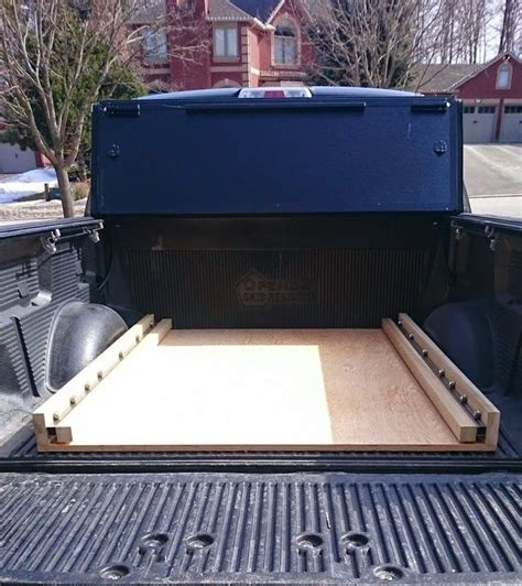 diy bed  ford truck enthusiasts forums truck bed box