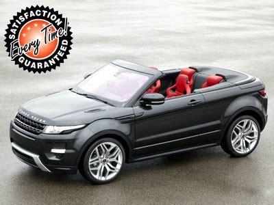 range rover evoque lease hire best range rover evoque convertible car leasing deals