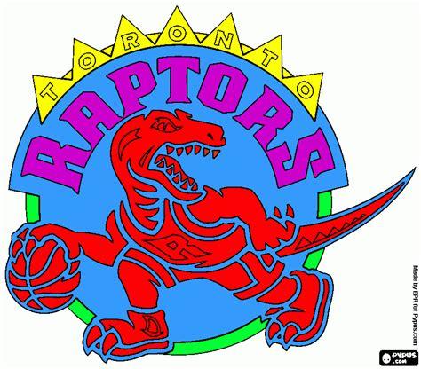 toronto raptors coloring page printable toronto raptors
