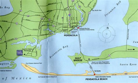 pensacola map tony s thoughts on the world ii gulf and pensacola florida