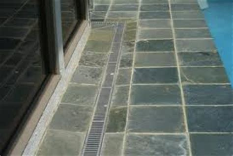 Garage Floor Drainage Solutions by Channel Drain Trench Drains Installation Driveway Patio