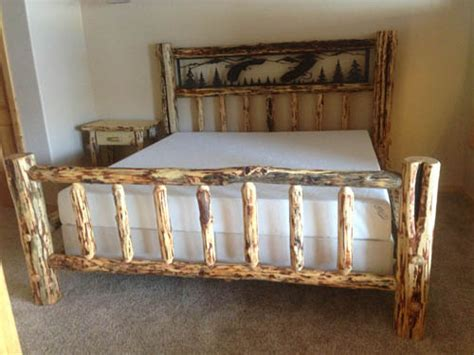 log beds king size king size log beds