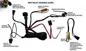 Hid Relay Harness Diagram Hid Kit Installation Guide