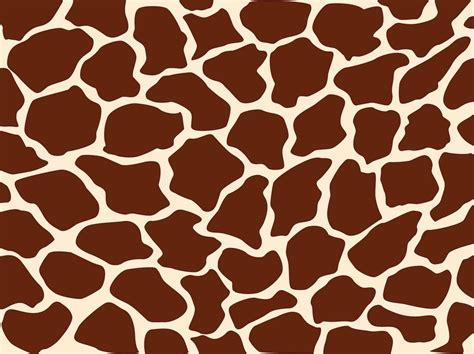 pattern animal vector giraffe pattern vector art graphics freevector com