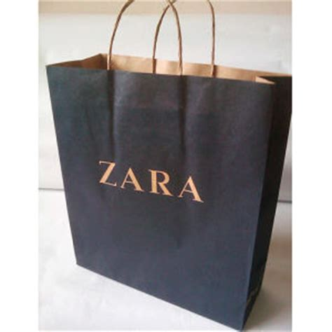 Zara Paperbag L china paper bag for zara china handle gift bag paper carry bag