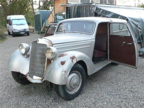 Mercedes Benz Pick Up Truck Diesel | buy new 1955 mercedes benz 170 s v d diesel pickup