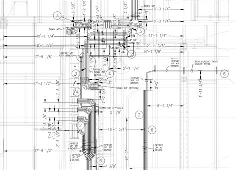 electrical wiring conduit layout technology e light electric