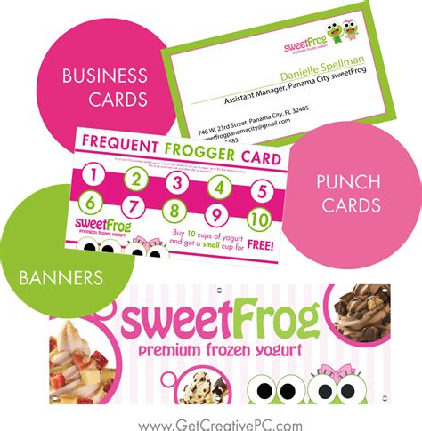 Sweet Frog Gift Card - small business spotlight sweet frog of panama city fl get creative blog