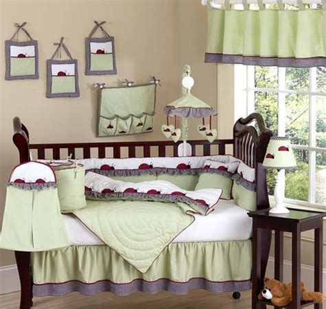 Ladybug Baby Crib Bedding by Ladybug Parade Baby Bedding 9 Pc Crib Set Only 119 99