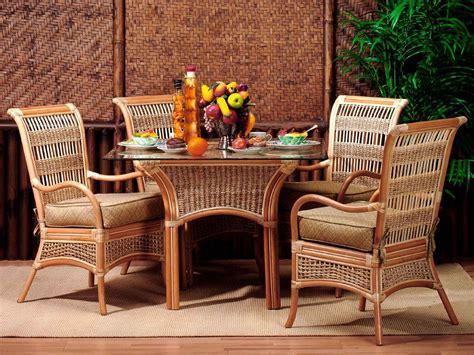 rattan and wicker dining sets island paradise rattan dining set kozy kingdom