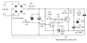 Dimming Led Lights Problems 220v Led Flasher Circuit