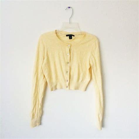 light yellow cardigan sweater light yellow cropped cardigan sweater cardigan
