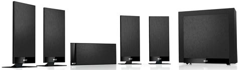 kef t105 5 1 5 1 channel home theater speaker system black