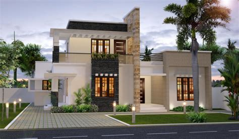 modern architecture homes 1727 elegant sophisticate house designed by kerala home design