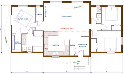 cottage open floor plan simple with open floor plans home best house cottage