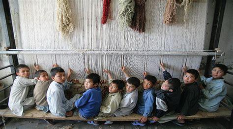 fabbrica tappeti l ala della scuola lo sfruttamento minorile degli schiavi
