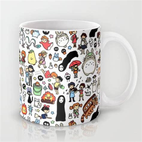 Doodle Mug kawaii ghibli doodle mug by kirakiradoodles 15 00