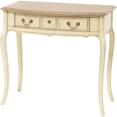 cream sofa table buy french vintage style cream console table from fusion
