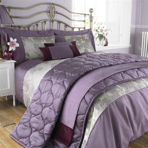 thomas bedding charlotte thomas francesca bed set in purple duvet cover