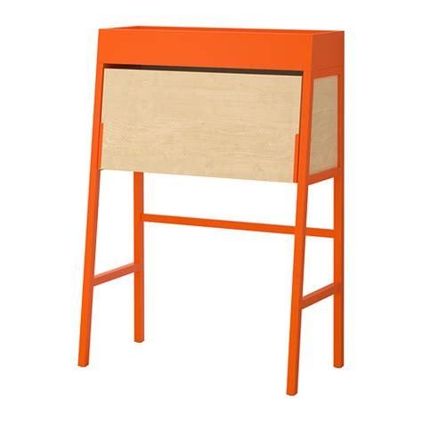 Meja Komputer Ikea ikea ps 2014 meja tulis oranye veneer birch ikea