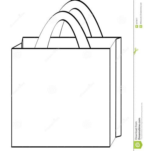 shopping bag template shopping bag black and white clipart clipart suggest