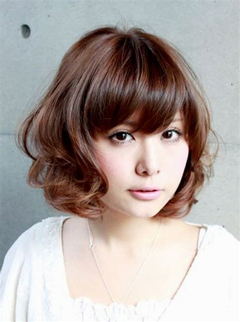 kawaii hairstyles bangs 30 cute styles featuring curly hair with bangs fave