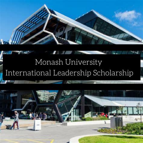 Monash Mba Scholarship by Monash International Leadership Scholarship