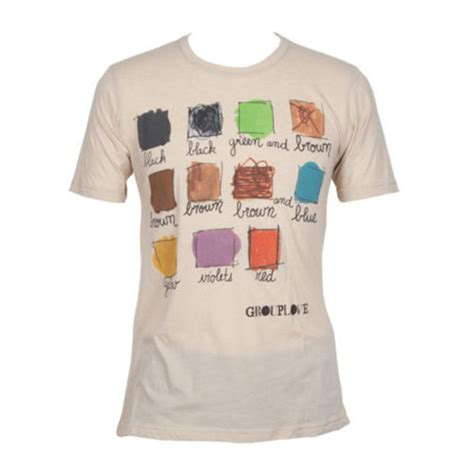 colors grouplove shirt grouplove colorful ayy band wheretoget