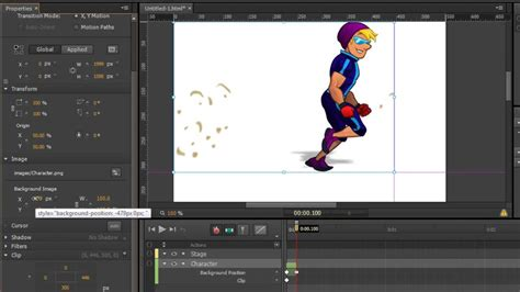 tutorial indesign animation image gallery edge animate