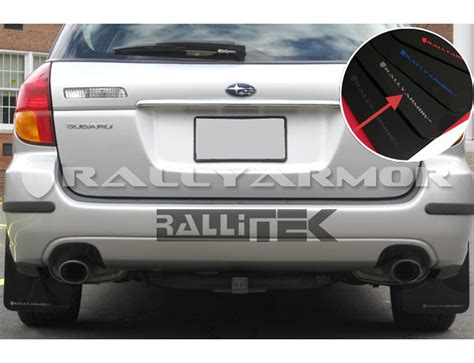 rally subaru outback rally armor ur mud flaps legacy outback 2005 2009