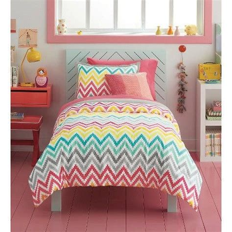 printed chevron comforter set xhilaration comforter