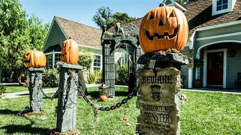 paige hemmis diy pumpkin fence pillars youtube