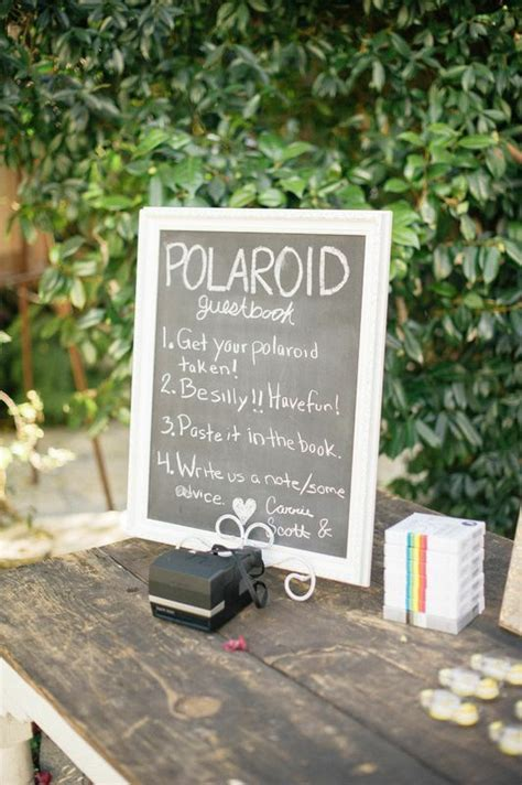 Best 25  Polaroid guest books ideas on Pinterest