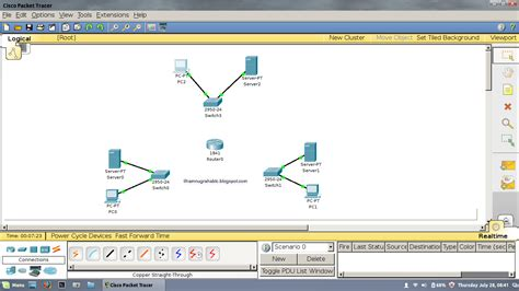 tutorial menggunakan cisco packet tracer 5 3 tutorial cara membuat simulasi 1 router untuk 3 jaringan