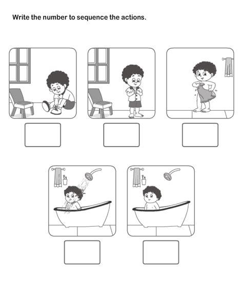 printable sequencing games free printable english worksheets for kindergarteners