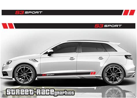 Audi S3 Sport by Audi A3 Racing Stripes 006 S3 Sport Race Org